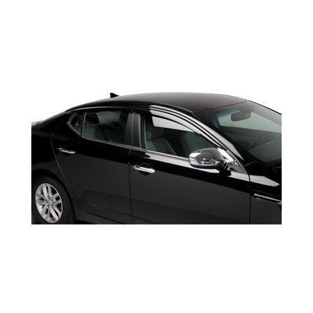 Putco 580005 Window Visor For 2011-2015 Kia Optima - Front and Rear, Driver and Passenger Side ()