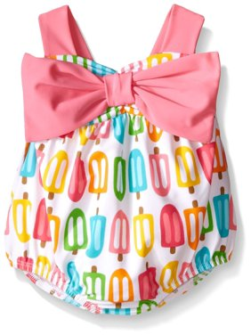 Mud Pie Baby Girls Popsicle Swimsuit 0-6 months