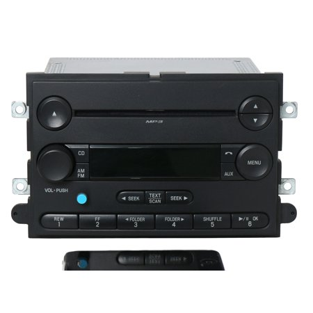 2008 Ford F-250 F-350 Super Duty Radio AM FM CD w Bluetooth Music 8C3T-18C869-EC -