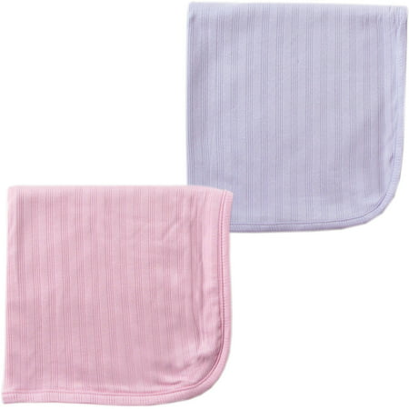 Touched by Nature Baby Girls' Organic Cotton Swaddle Blanket, 2-Pack, Choose Your (Organic Swaddle)