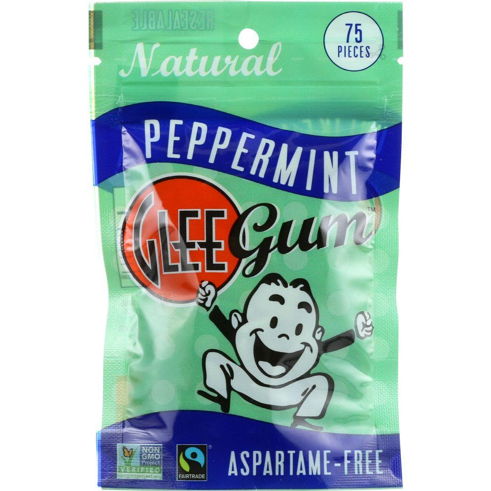 Glee Gum Peppermint Sugar-Free Chewing Gum, 75 Pc (Pack Of 6)