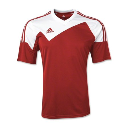 8fbc072c4 Adidas Boys Toque 13 Jersey T-Shirt Maroon White Size Youth Small - Walmart