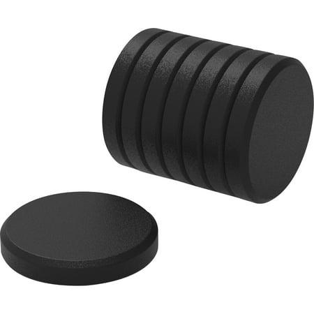 U Brands, UBR3021U0012, High Energy Metal Magnets, 8 / Pack, Black