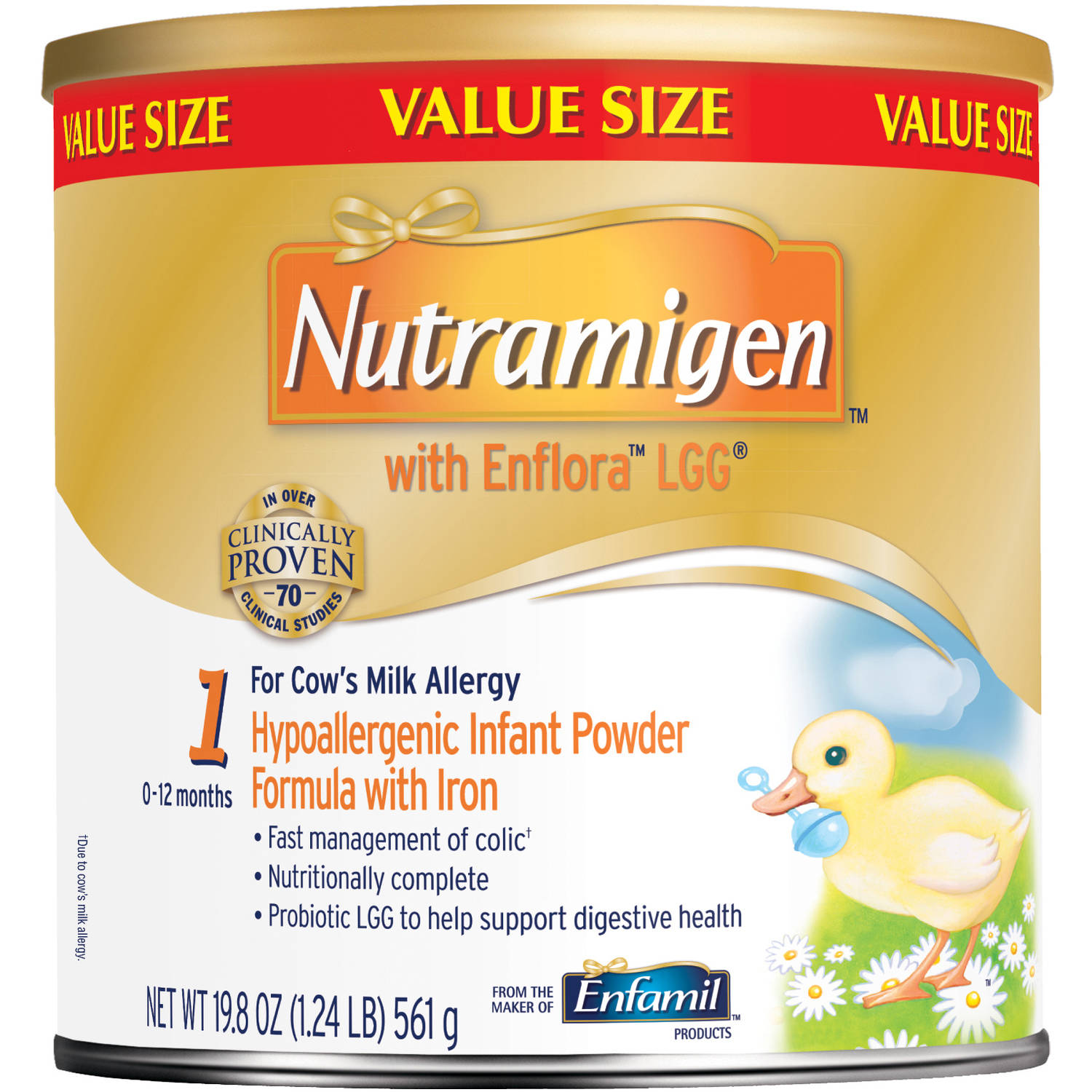 Nutramigen with Enflora LGG baby formula ��� 19.8 oz Powder can