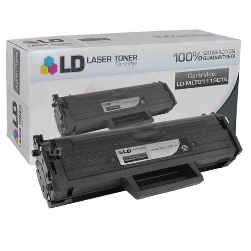 LD Compatible Replacement for Samsung MLT-D111S Black Laser Toner Cartridge for use in Samsung Xpress M2020W, and M2070FW Printers