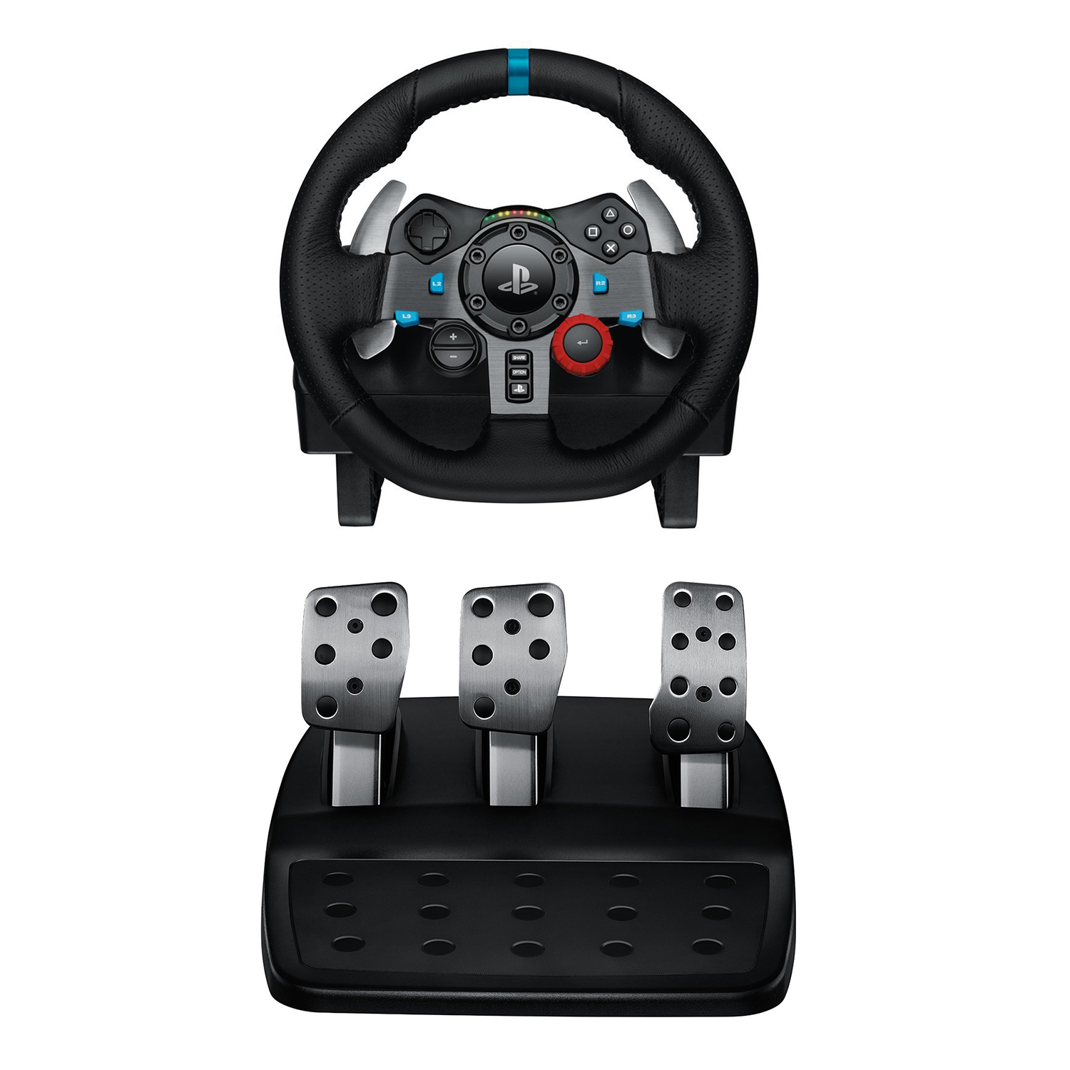 Refurbished Logitech 941000110 Driving Force G29 Racing Wheel for PlayStation 4 and PlayStation 3