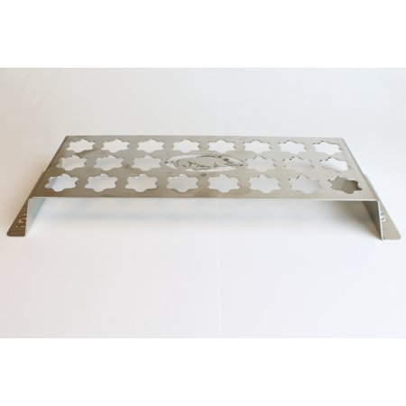 Arkansas Razorbacks Jalapeno Popper Stainless Steel Grill Rack, 22-Hole