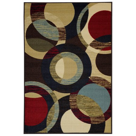 Maxy Home Hamam Collection HA-5049 (Non-Skid) Rubber Back Area Rug - 39-inch-by-60-inch - 3'x'5'