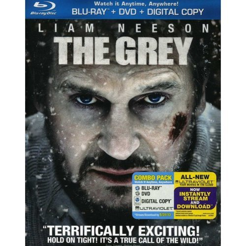 The Grey (Blu-ray   DVD) (With INSTAWATCH) (Widescreen)