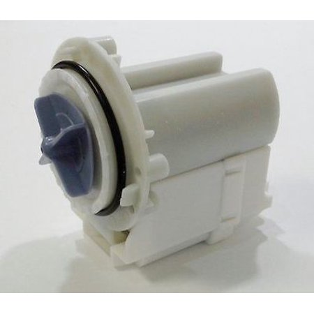 Express Parts  ER0028-M Fit GE Front Load Washer water drain pump JUST MOTOR for (Ge Front Load Washer Not Draining Water)