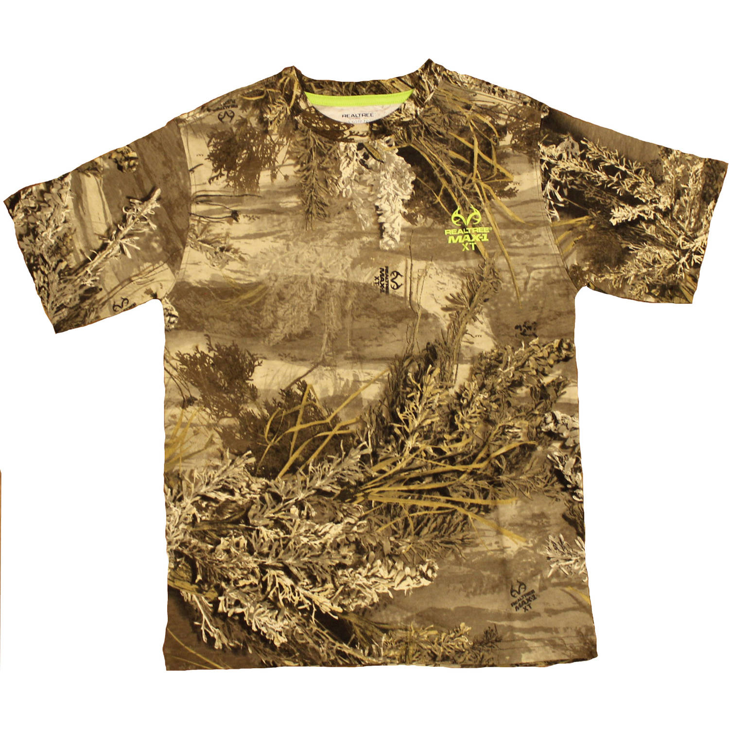 Boy's Short Sleeve Camouflage Tee, Available in Multiple Patterns