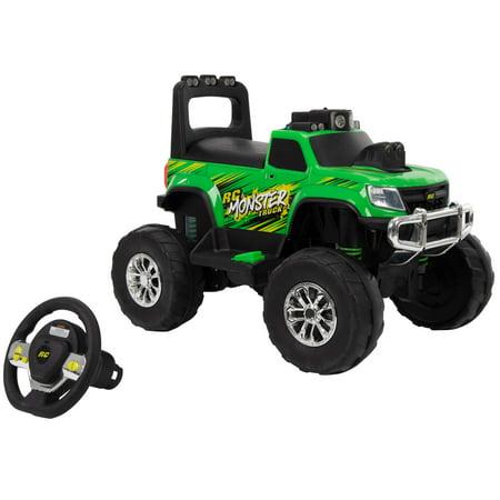 Huffy 12-Volt RC Green Monster Truck Ride-On