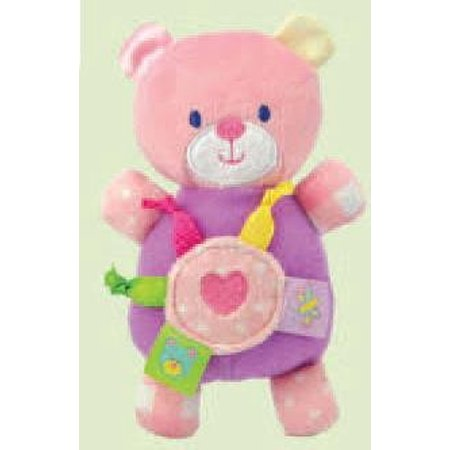 Pastel Pink Bear Rattle Toy - image 1 de 1