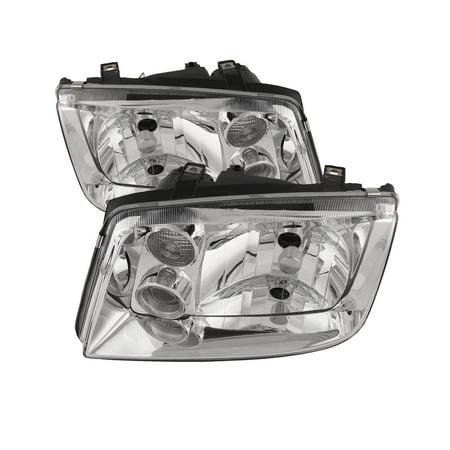 2002-2005 Volkswagen Jetta Headlights Set w/o Fog Lights VW2502125 &