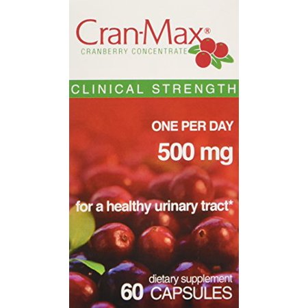 - Cran-Max Cranberry Concentrate Clinical Strength 60 Capsules
