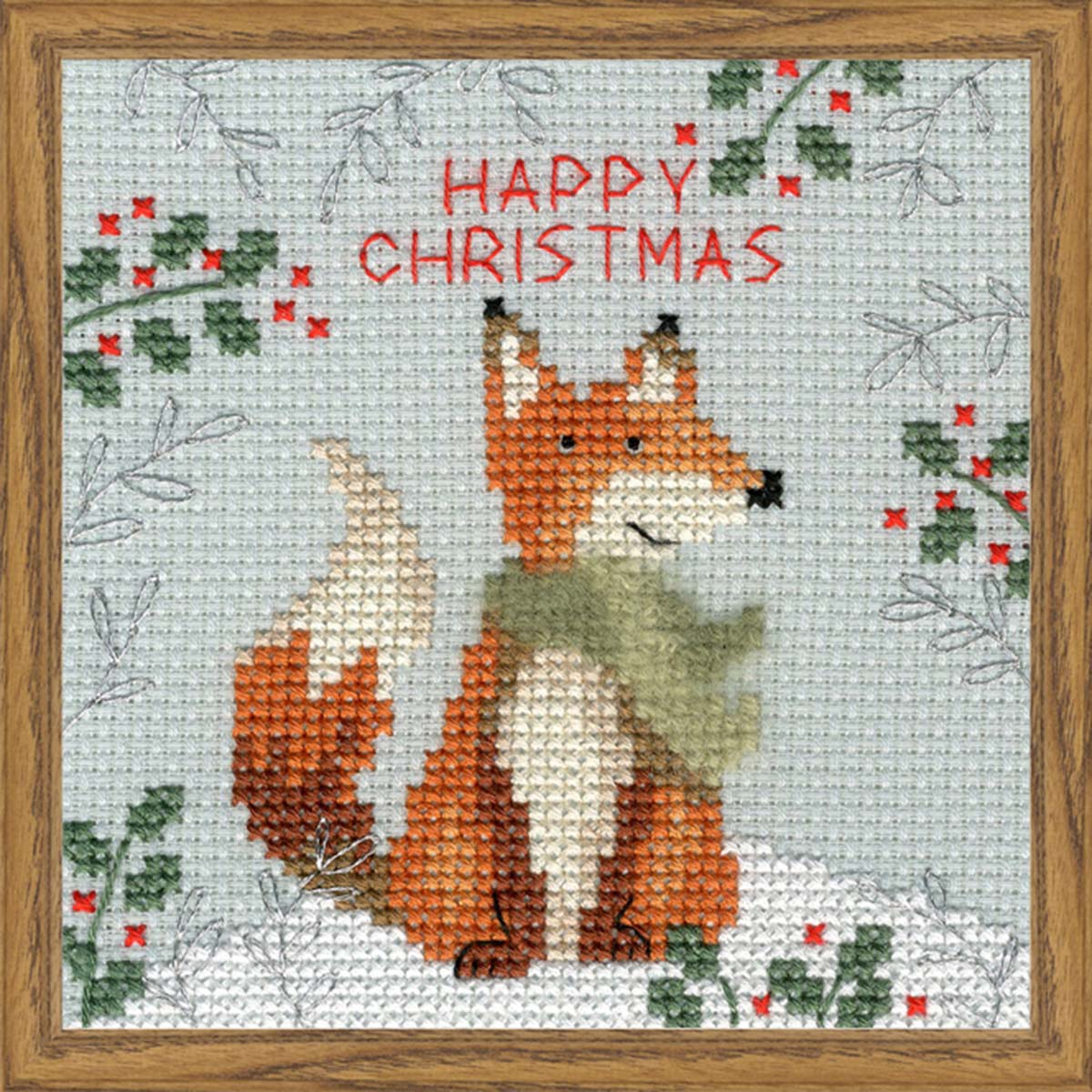Bothy Threads Xmas Fox Counted Cross-Stitch Kit