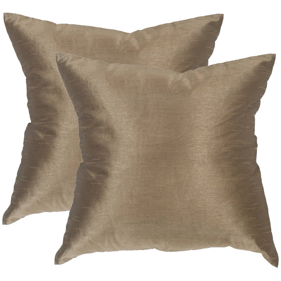 Safavieh Luster Pillow, Multiple Colors, Set of 2