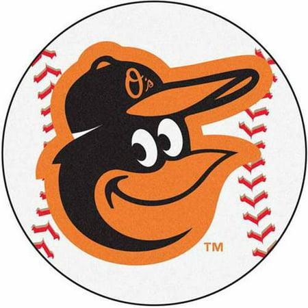 Baltimore Orioles MLB Baseball Round Floor Mat