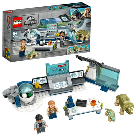 LEGO Jurassic World Dr. Wu's Lab: Baby Dinosaurs Breakout 75939 Dinosaur Toy for Creative Play (164 Pieces)