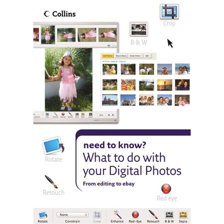 - What to do with your Digital Photos (Collins Need to Know?) - eBook