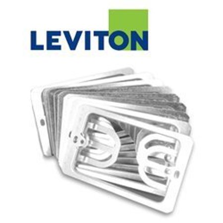 Plated Wall Bracket (Leviton C0224-CP 1 Gang Wallplate Mounting)