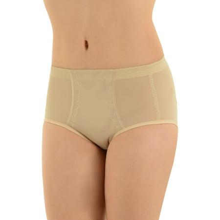 45df21c93bbe Summit ShapeWear - Womens Shapewear Silicone Padded Panties Buttock  Enhancement Nude Underwear - Walmart.com