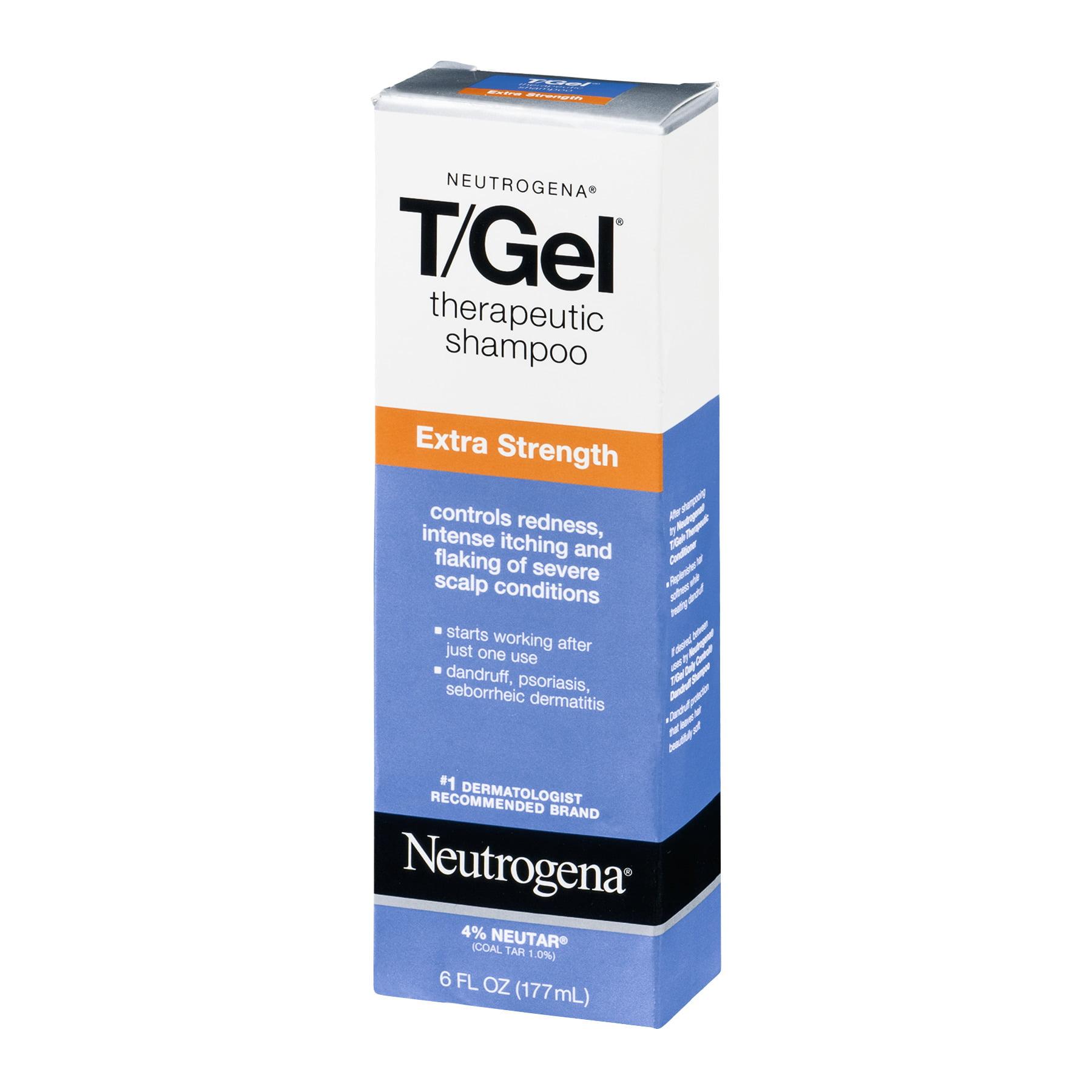 Neutrogena Neutrogena T/Gel Shampoo, 6 oz - Walmart com