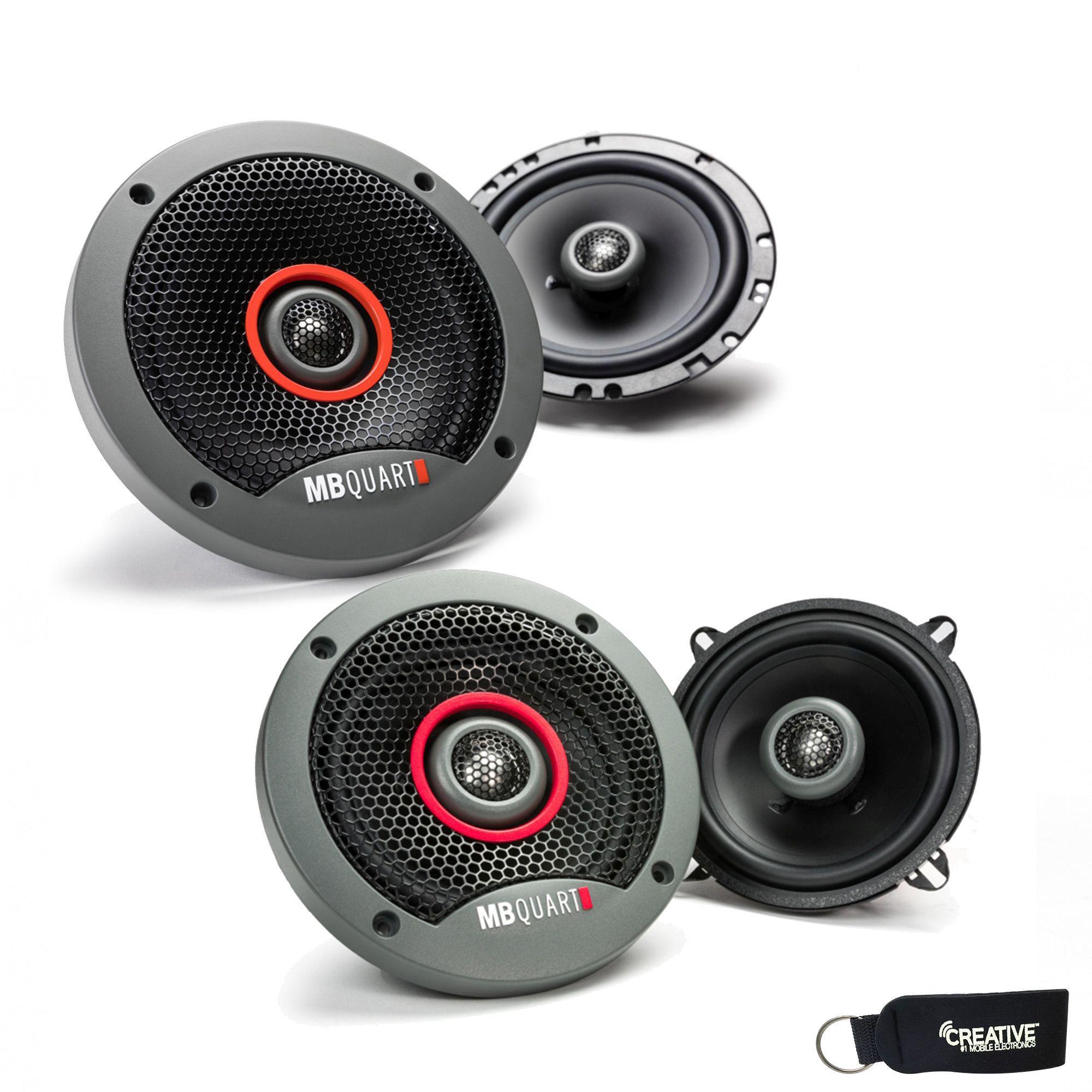"""MB Quart - Pair Of Formula FKB116 6.5"""" Coaxial Speakers And A Pair Of Formula 5.25"""" Speakers FKB113"""