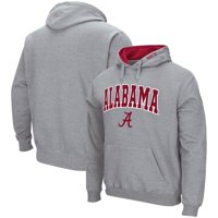 Alabama Crimson Tide Colosseum Arch & Logo Pullover Hoodie - Heathered Gray