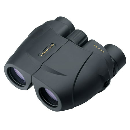 Leupold BX-1 Rogue 10x25mm Compact Hunting Binocular, Black -