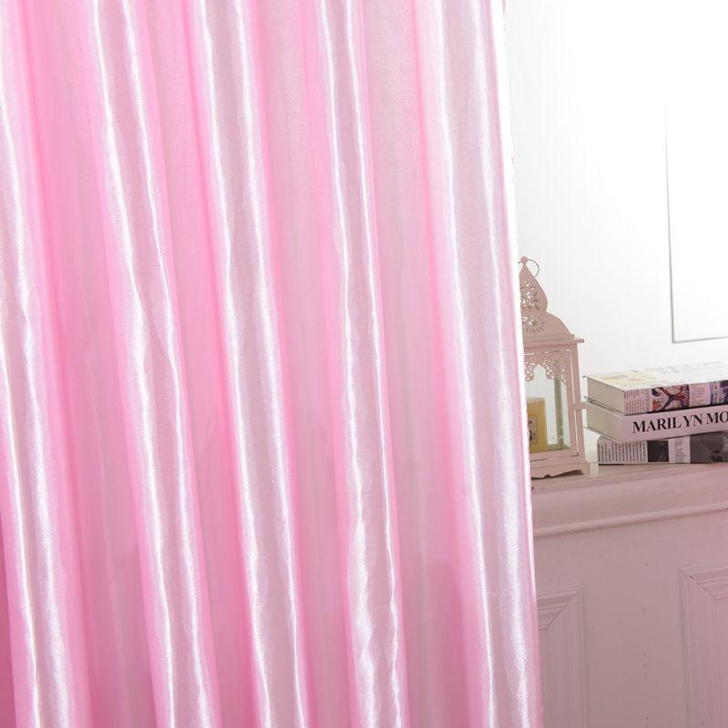 Sunshinellc Upscale Drape Panel Satin Window Screen Door Room Lining Curtain D Curtains Home Decor 37 79 Inch