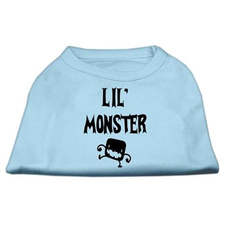 Lil Monster Screen Print Shirts Baby Blue Med (12) - image 1 of 1