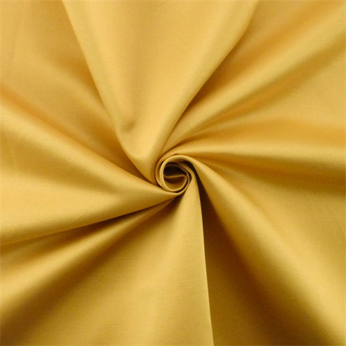 Mustard Yellow Sateen Home Decorating Fabric, Fabric By the Yard
