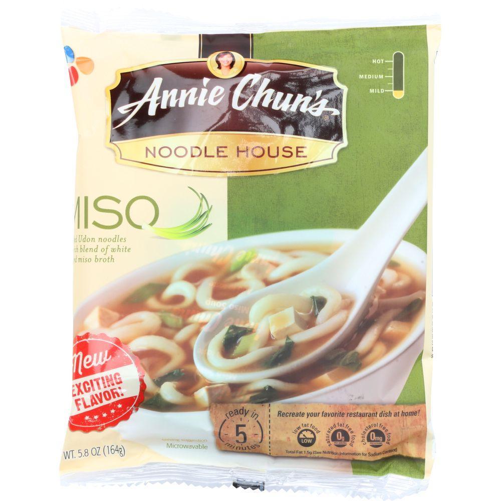 Annie Chuns Miso Noodles, 5.8 Oz (Pack Of 12)