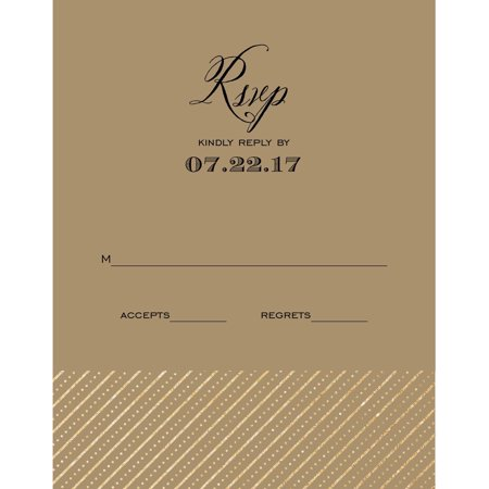 Mr and Mrs Standard RSVP - Rsvp Style For Halloween Party