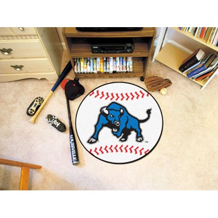 Fanmats State University Of New York At Buffalo 27 Inch Diameter College Ncaa Team Color Logo Baseball Mat