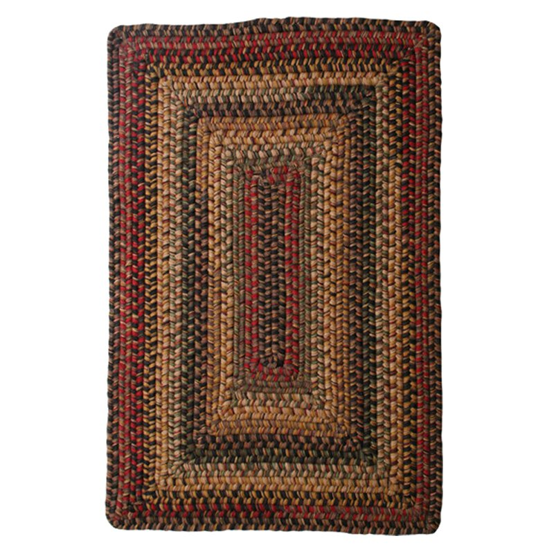 Homespice Primitive Wool Braided Area Rugs Oval Rectangle 20x30-8x10 Budapest