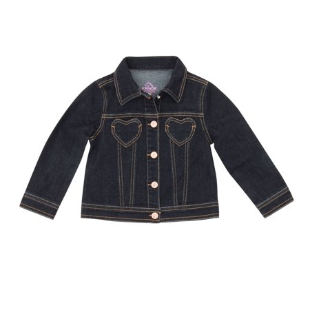 Toddler girls' denim jackets from Gap are a fashion favorite for a stylish look. Find a denim jacket in the latest designs and the hottest colors of the season.