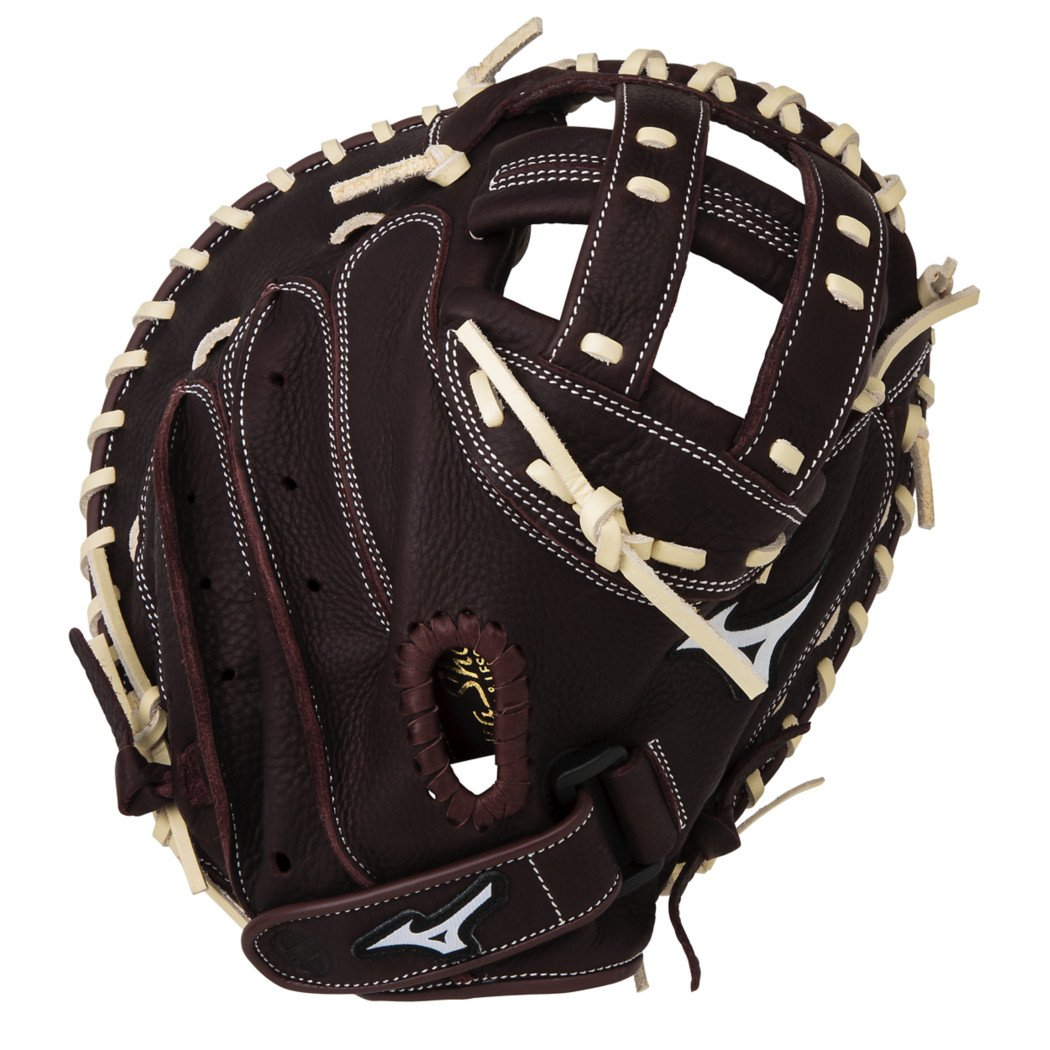 Mizuno Franchise Fastpitch Softball Catchers Mitt, 34.00in, Left Hand Throw 34.00in by Mizuno