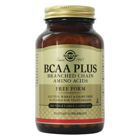 - BCAA Plus (Ramifiés Aminos) - 100 Vegetarian Capsules