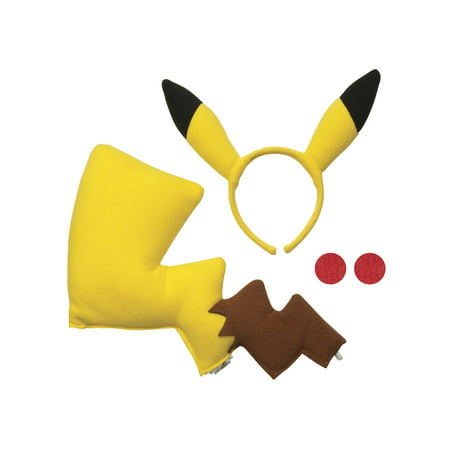 Pokemon Pikachu Costume Kit - Ash Pokemon Trainer Costume