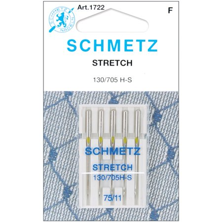 - Schmetz Needle Stretch Size 75/11 (pack of 5)