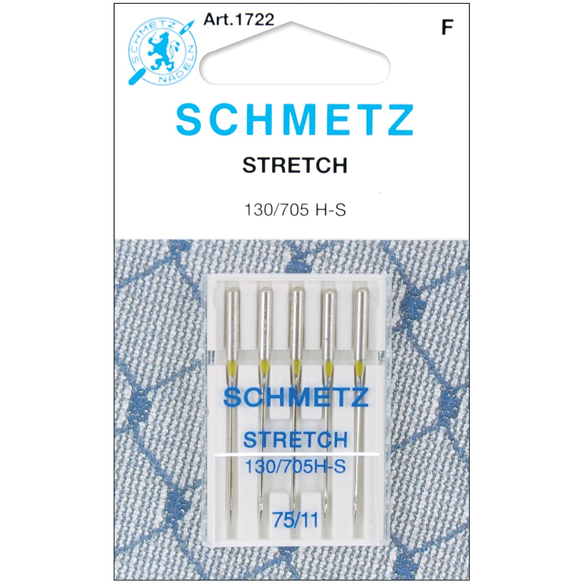 Schmetz Needle Stretch Size 75/11 (pack of 5)