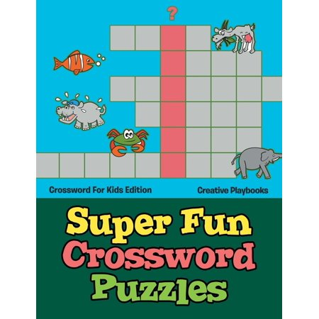 Super Fun Crossword Puzzles - Crossword for Kids Edition - Halloween Crossword For Kids