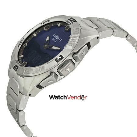 Tissot T-Touch Expert Solar Blue Dial Men's Watch T0914204404100 - image 1 of 3