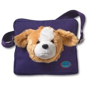 Kids' HoodiePet Small Crossbody Bag with Detachable Plush Animal