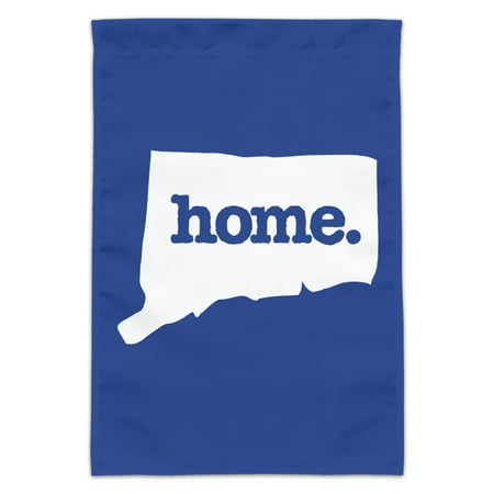 Connecticut CT Home State Solid Navy Blue Officially Licensed Garden Yard Flag