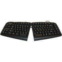 Goldtouch - GTN-0099 - Goldtouch Standard USB Keyboard Black with PS/2 Adapter By Ergoguys - Cable Connectivity - USB,