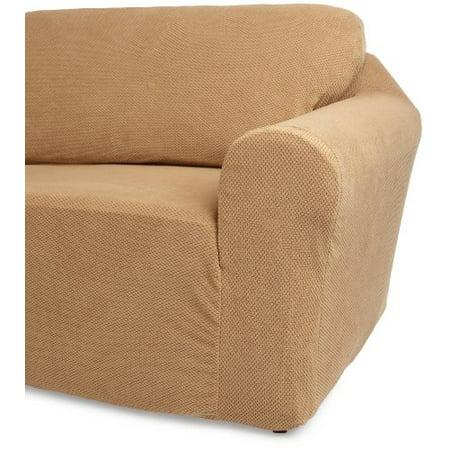 Classic SlipCovers 78-96-Inch Sofa Cover, Cappuccino