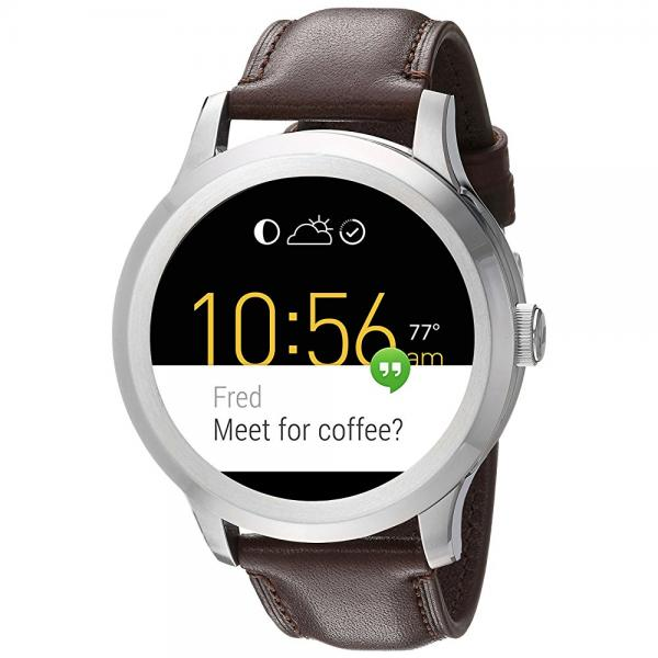 Fossil Q Founder Gen 2 Dark Brown Leather Touchscreen Smartwatch FTW2119 by Fossil